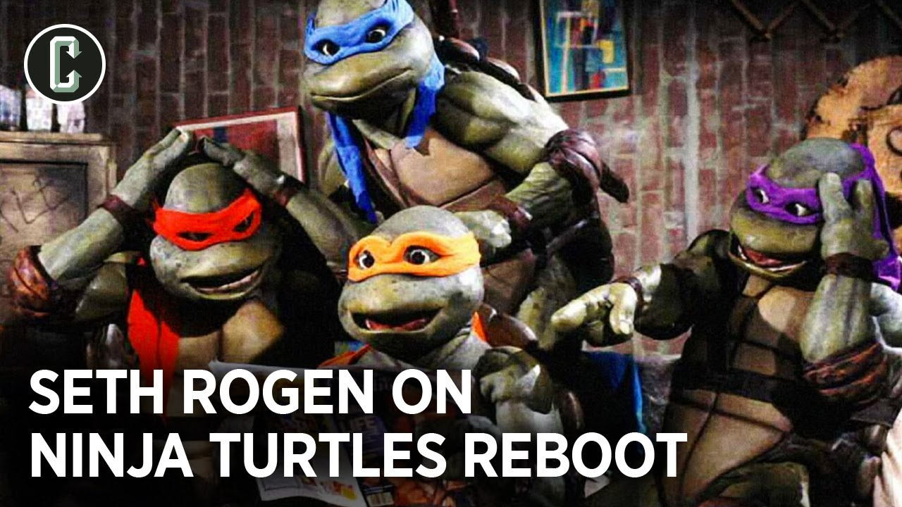 Seth Rogen's Ninja Turtles Movie Will Embrace Being a Teenager