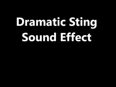 Dramatic Sting Sound Effect