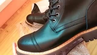 Зимние ботинки с Алиэкспресс - распаковка, посмотреть