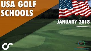 GOLF SCHOOLS IN THE USA 2018!