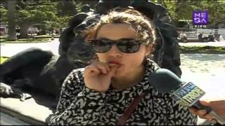 Como reaccionan los chilenos frente a un cigarro de marihuana