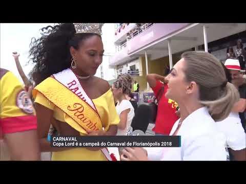 Copa Lord é a campeã do Carnaval de Florianópolis 2018