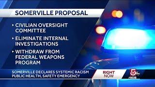 Somerville declares racism public health emergency