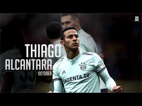 Thiago Alcantara • October   18/19