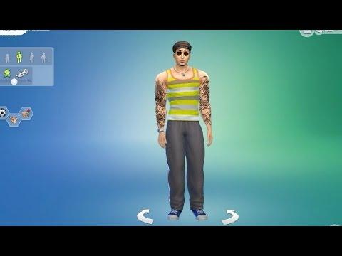The Sims 4: Create a Sim - The Bodybuilder