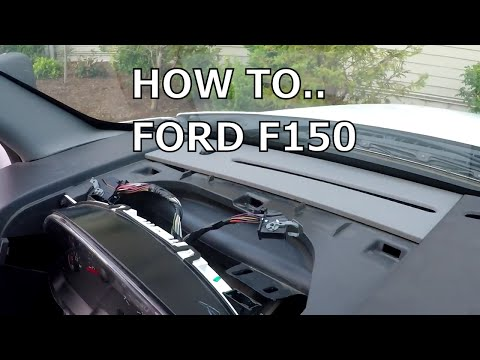 How To Fix Dashboard Lights And Dash Board Mileage Screen Ford F150 2006