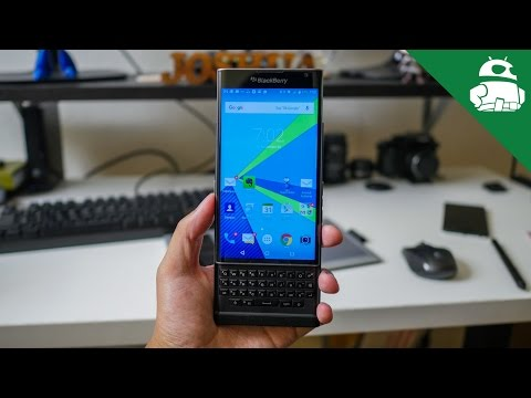 BlackBerry Priv Review!
