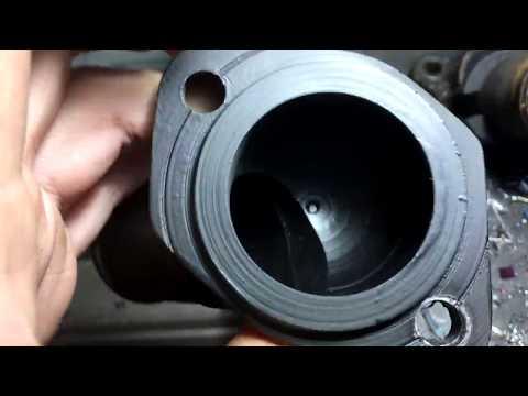 патрубок термостата (токарка) Peugeot 605