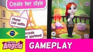 Adote a Angela bebê como sua própria gatinha virtual e dê a ela uma...