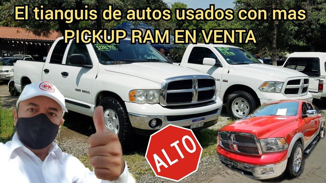 ESPECIAL RAM pickup camionetas en venta tianguis de autos usados trucks for sale
