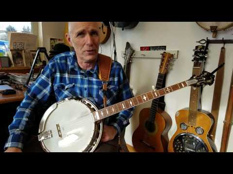 Banjo G Scale with Rolls