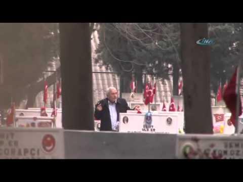 Edirnekapı Şehitliği'nde Hareketli Dakikalar