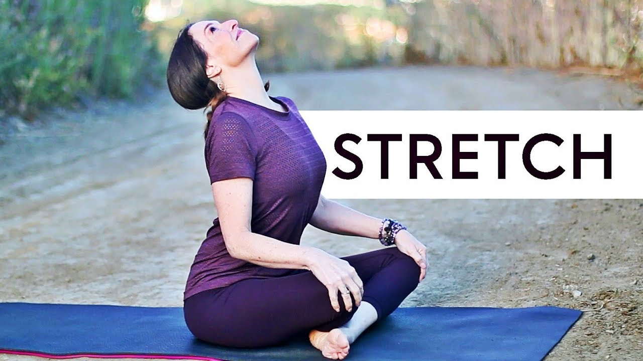 Yoga Stretches Relieve Stress