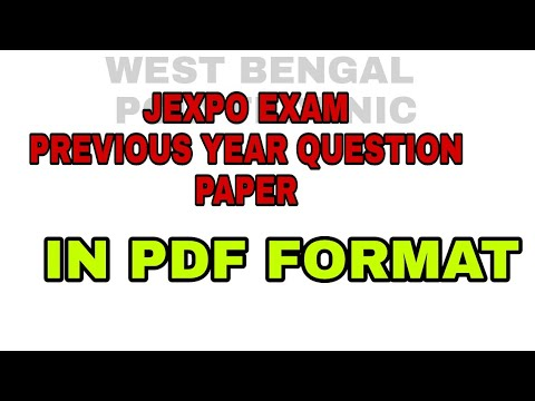 West Bengal Polytechnic Question Papers Pdf