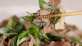 [SUB] 기사식당 보다 맛있는 돼지불백   요리대가의…