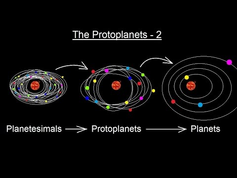 Astronomy - Ch. 8: Origin of the Solar System (12 of 19) The Protoplanets - 2