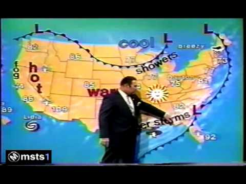 Show The Weather Map.Today Show Weather Willard Scott 1987 Youtube