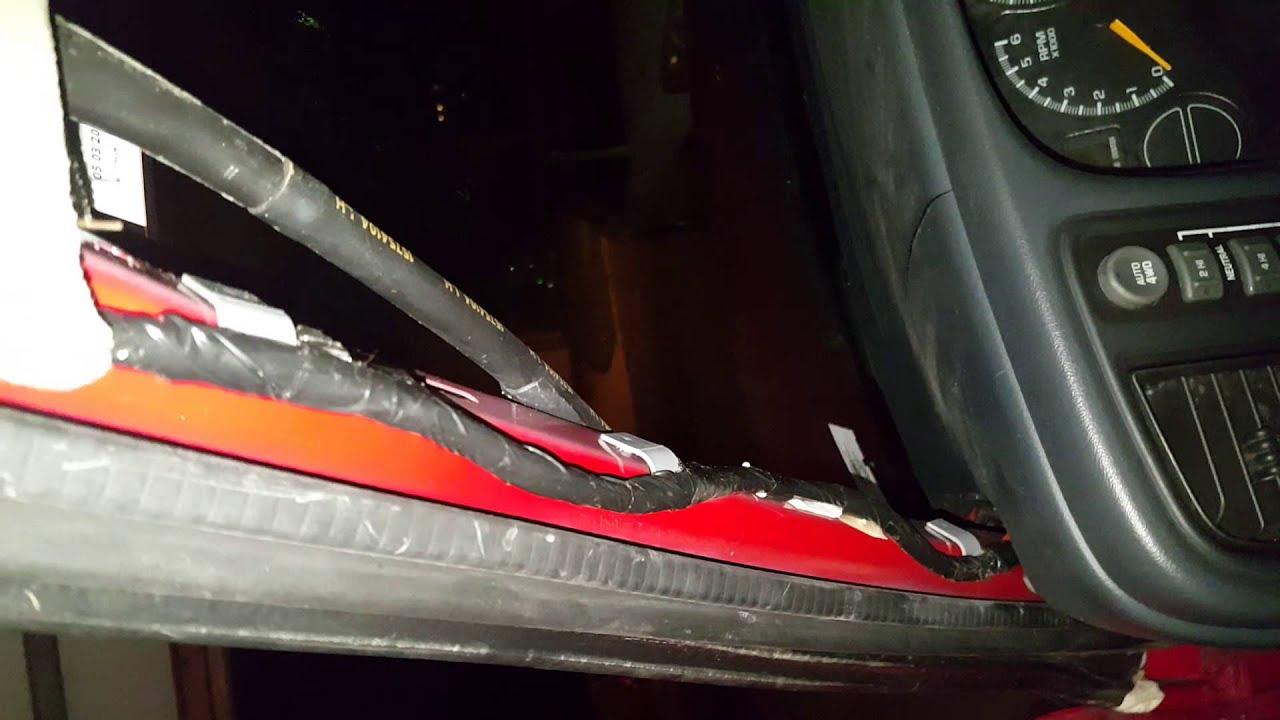 2000 Chevy Suburban Water Leak Driver Door Weatherstrip