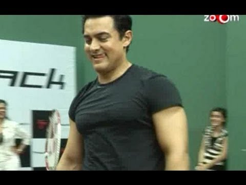 Aamir Khan will work on his body for Dhoom 3 - YouTube