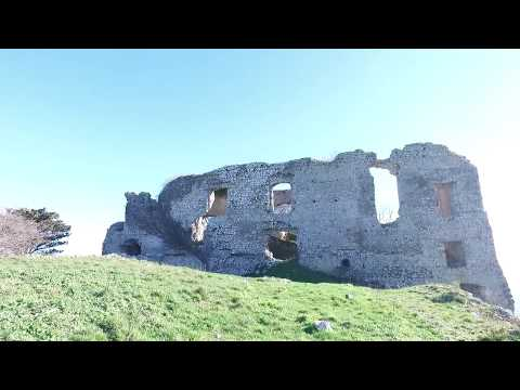 Ancient Exploring: Fortress Rocca Montis Draconis built in 800AD, Italy