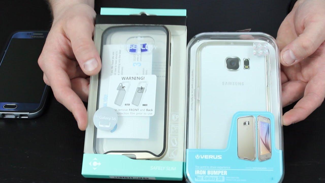 on sale 4cf93 06a9b Case Wars #1: Samsung Galaxy S6, Verus Iron Bumper vs. Caseology Waterfall