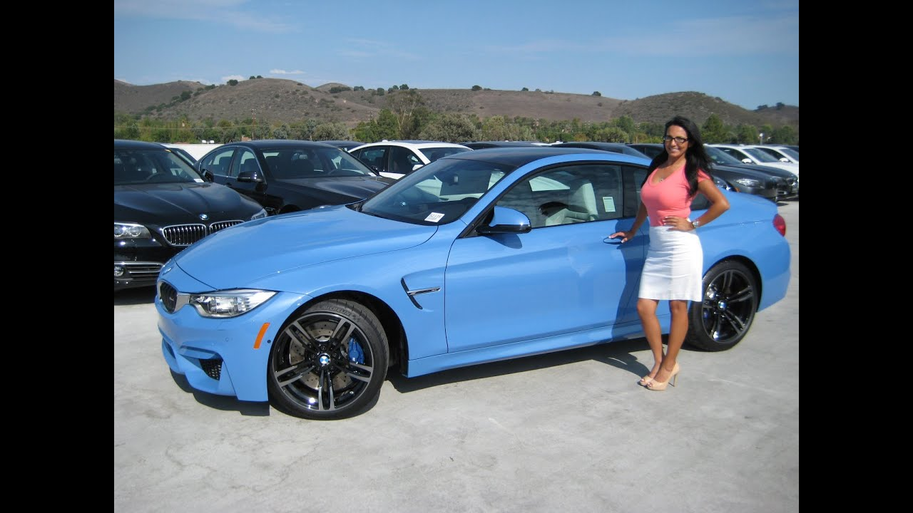 NEW BMW M4 Quick review  19 Black M Wheels  Exhaust Sound  YouTube