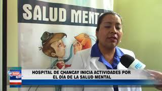 HOSPITAL DE CHANCAY INICIA ACTIVIDADES POR EL DIA DE LA SALUD MENTAL