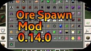 [MOD] ORE SPAWN V9.0 (VARIOS ITENS, MOBS , ARMADURAS) |Minecraft PE| 0.14.0 ✅XANDY✅