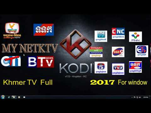 how to watch live tv on kodi windows