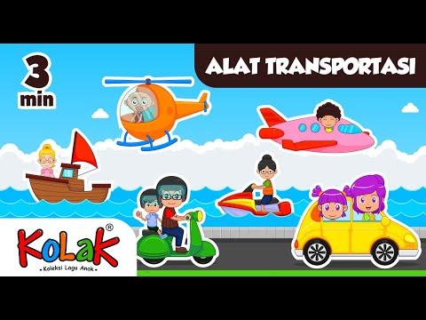 Alat Transportasi Lagu Anak Tema Teknologi Subtema Alat