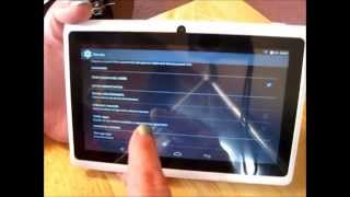 Review: Irulu 7 QuadCore 8GB Tablet, Android 4.4
