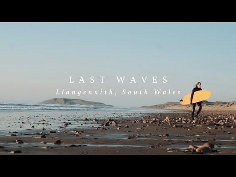 Last Waves At Llangennith Beach (Gower Peninsula, South Wales) ~ Cinematic Film Shot On The Fuji XT3