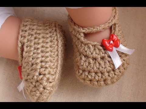 Posh Crochet Baby Booties Newborn To 12 Month Old Sizes