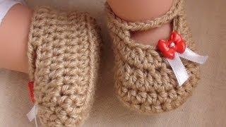 Posh Crochet Baby Booties - Newborn to 1...