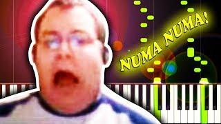 NUMA NUMA (DRAGOSTEA DIN TEI) - Piano Tutorial