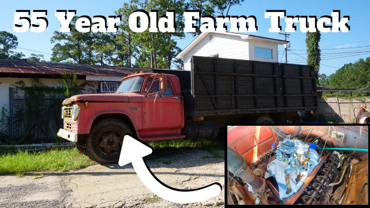 We Had A Problem Installing The New Performance Carburetor On My 55 Year Old Farm Truck...