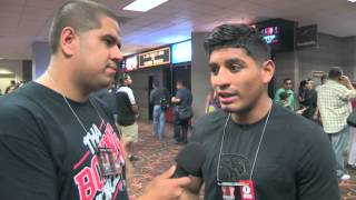 ABNER MARES ON GETTING BACK IN THE RING