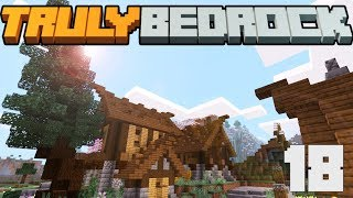 Scavanger Hunts, Custom Trees & More Adorable House Builds! - Truly Bedrock - S1 E18 - Minecraft SMP