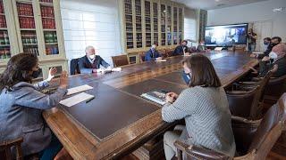 Reuniones con representantes políticos, sociales e institucionales