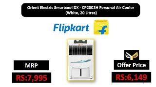Orient Electric Smartcool DX - CP2002H Personal Air Cooler (White, 20 Litres)