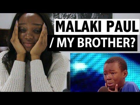 "Malaki Paul -  9 Year old - ""Listen"" - Britain's Got Talent - Reaction"