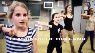 MAKING OF Waka Waka Biggest flashmob in the Netherlands