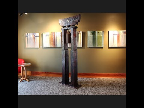 The Bell Gong at the Jansen Art Center