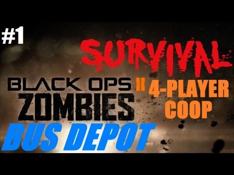 Zombies 4-Player Survival On Bus Depot: Small Map, No Perks = Short Series?