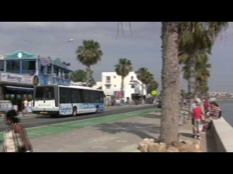 Paphos Harbour and seafront in HD