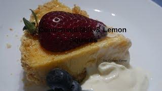 Condensed Milk and Lemon Squares