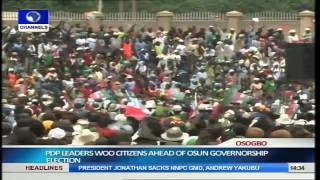 Jonathan, PDP Leaders Woo Osun Citizens Ahead Of Guber Election Pt.6