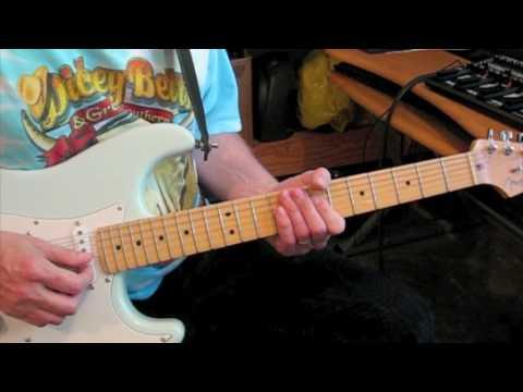 Guitar Lesson: Gimme Three Steps