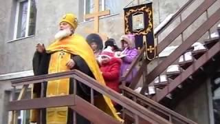 видео СВЯТО-БЛАГОВЕЩЕНСКИЙ ХРАМ пос. БЛАГОДАТНОЕ