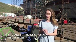 fear the walking dead making of 2x05 captive alycia debnam carey